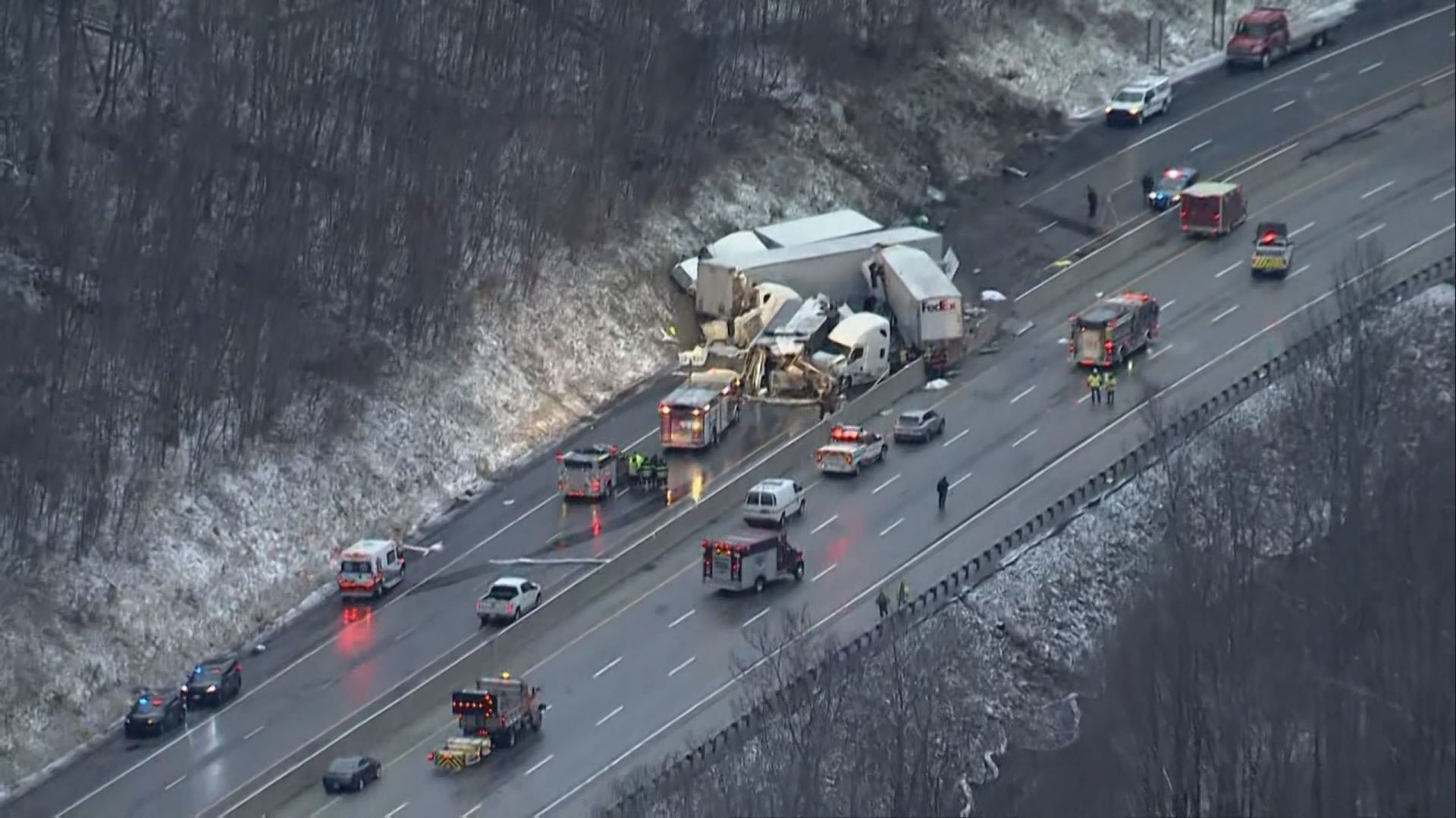 5 dead 60 hospitalized in pennsylvania turnpike crash scaled - Yunnan Sees COVID-19 Spike as Myanmar Slides Toward 'Super-Spreader' State