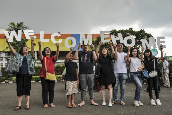 after 14 day quarantine 238 indonesians from wuhan finally come home - Cruise Ship Coronavirus Ordeal Ends with Cambodia Welcome