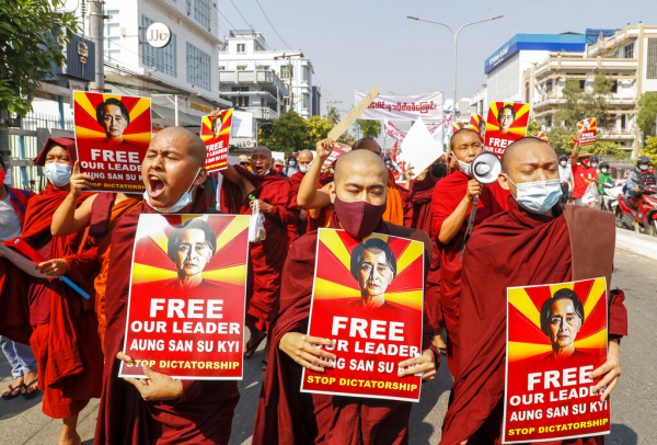 myanmar draft cybersecurity law adds to protests over coup 1 - Bubonic plague 'outbreak' in China not seen as high risk, WHO says