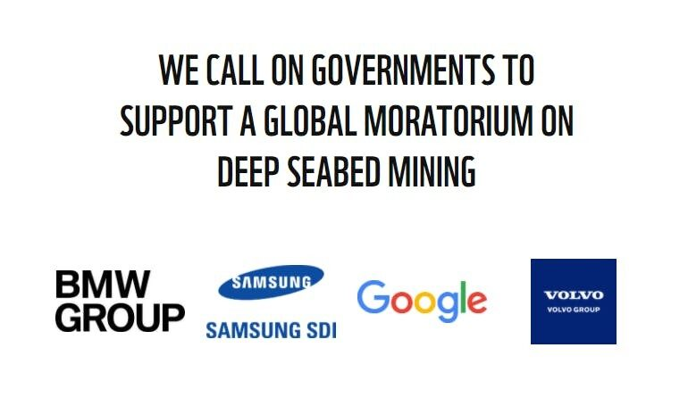 samsung google bmw and volvo join call to ban deep sea bed mining 1 - Myanmar's ethnic communities opposing a coal plant see their fight get harder