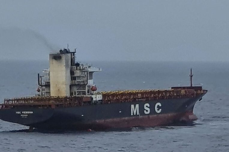 crippled cargo ship towed to singapore after fire 1 - Op-Ed: A US-China war is avoidable
