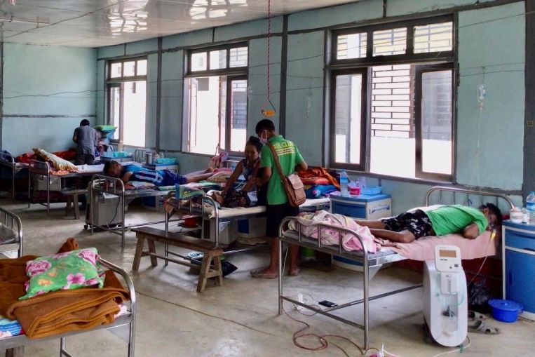 in myanmar health cares collapse takes its own toll - In Myanmar, health care's collapse takes its own toll