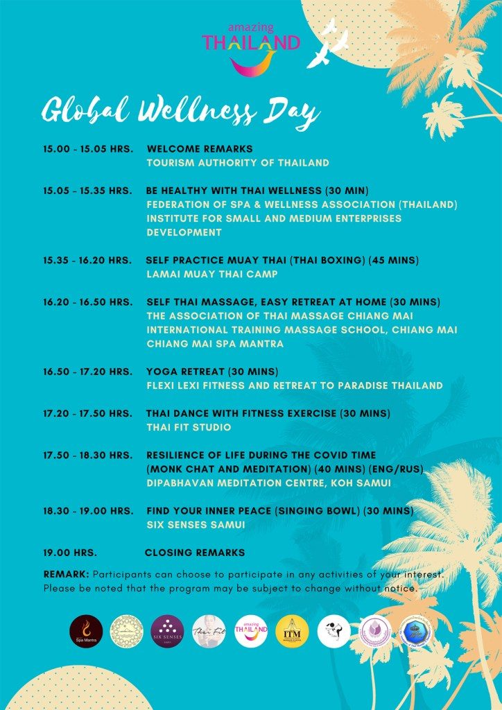 lets celebrate global wellness day 1 - Let's Celebrate Global Wellness Day