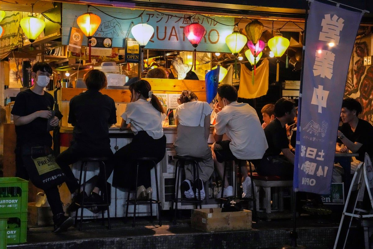 tokyoites flout covid restrictions ahead of olympic opening ceremony - Tokyoites flout Covid restrictions ahead of Olympic opening ceremony