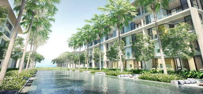 Absolute beachfront Apartment For sale Mai Khao. Offering Apartments for sale and re-sale in a secure community on Phuket for expats, retirees and families. - 1