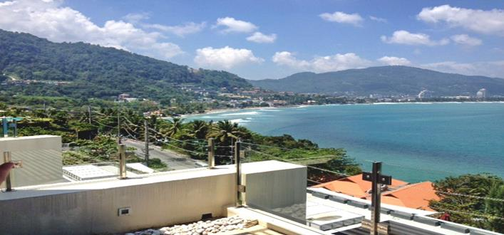 Freehold sea view Apartment for sale Kalim. Offering Apartments for sale and re-sale in a secure community on Phuket for expats, retirees and families. - 1