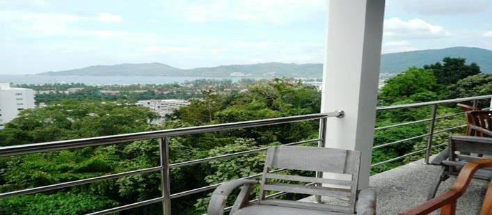 Sea view penthouse Apartment for sale Patong. Offering Apartments for sale and re-sale in a secure community on Phuket for expats, retirees and families. - 1