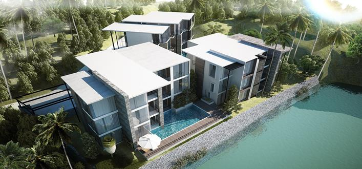 Modern Condos for sale Kamala. Offering Apartments for sale and re-sale in a secure community on Phuket for expats, retirees and families. - 1