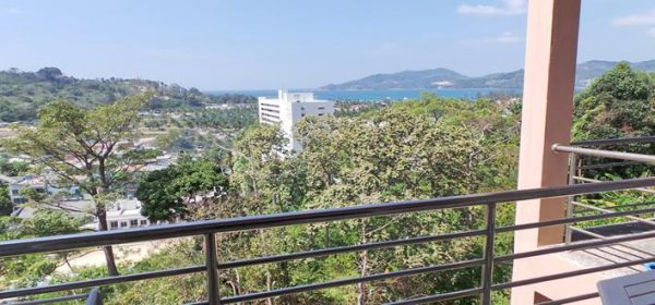 Ocean view Freehold condo in Patong for sale