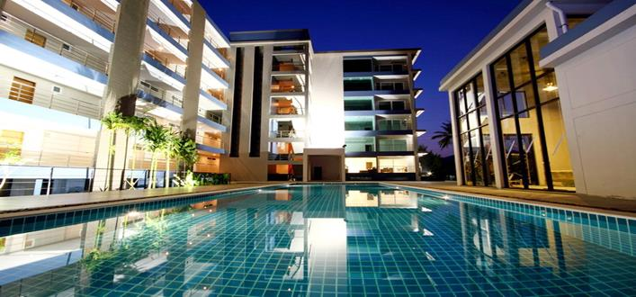 Condo in Golf course at Kathu for sale. Offering Apartments for sale and re-sale in a secure community on Phuket for expats, retirees and families. - 1