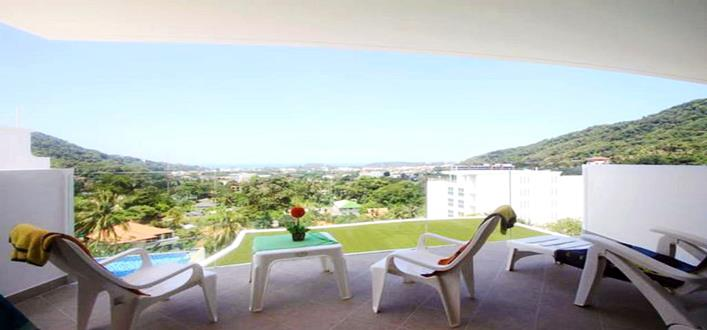 Ocean scenery Condo for sale in Kata. Offering Apartments for sale and re-sale in a secure community on Phuket for expats, retirees and families. - 1