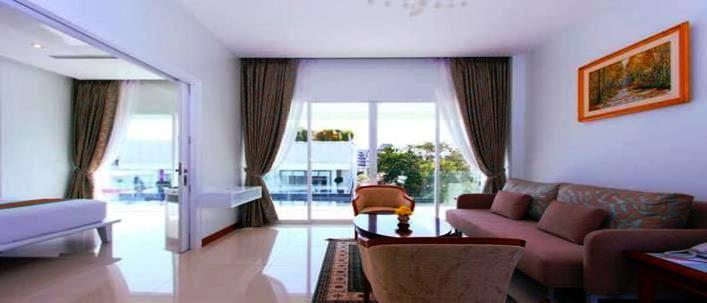 Modern Apartment in center for sale Patong. Offering Apartments for sale and re-sale in a secure community on Phuket for expats, retirees and families. - 1