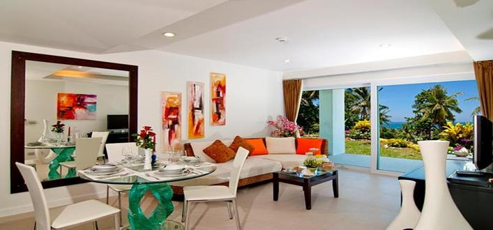 Sea view Condos in Karon for sale. Offering Apartments for sale and re-sale in a secure community on Phuket for expats, retirees and families. - 1