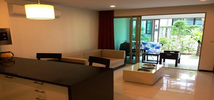 Modern Condo Kamala for sale. Offering Apartments for sale and re-sale in a secure community on Phuket for expats, retirees and families. - 1