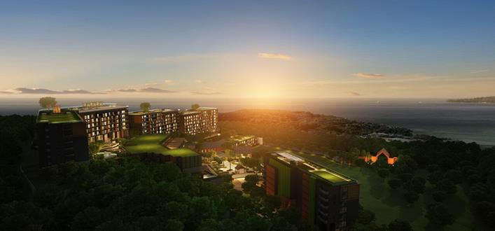 Condo close to Surin beach for sale. Offering Apartments for sale and re-sale in a secure community on Phuket for expats, retirees and families. - 1