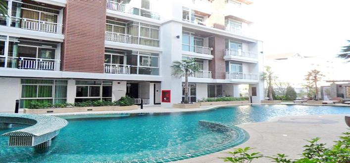 Modern studio Apartment in Patong for sale. Offering Apartments for sale and re-sale in a secure community on Phuket for expats, retirees and families. - 1
