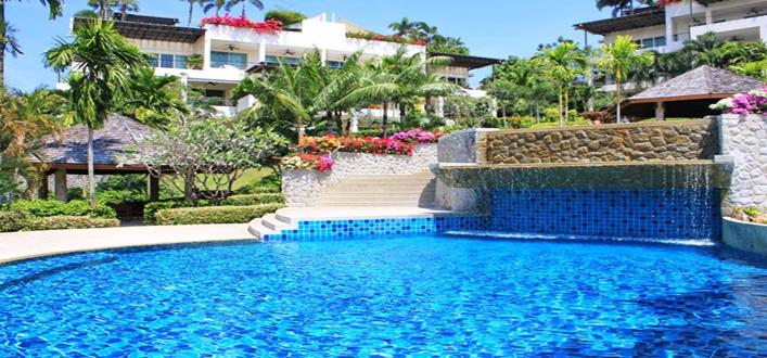 Corner unit seaview Apartment in Layan for sale. Offering Apartments for sale and re-sale in a secure community on Phuket for expats, retirees and families. - 1