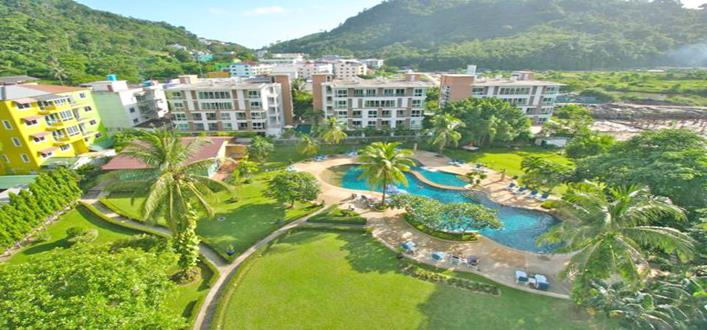 Private modern studio in Patong for sale. Offering Apartments for sale and re-sale in a secure community on Phuket for expats, retirees and families. - 1