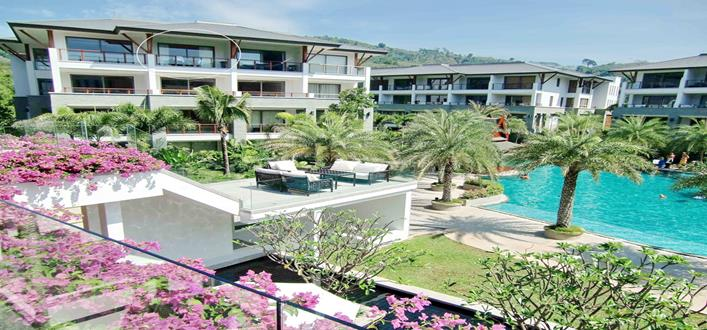 Penthouse ocean view Condo for sale Nai Thon. Offering Apartments for sale and re-sale in a secure community on Phuket for expats, retirees and families. - 1