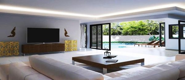 2 bedroom private pool Villa for sale Cherng Talay