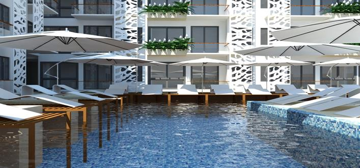 New Resort Style Condos in Layan for sale. Offering Apartments for sale and re-sale in a secure community on Phuket for expats, retirees and families. - 1