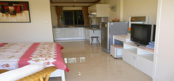Large Freehold Studio-Apartment In Patong For sale. Offering Apartments for sale and re-sale in a secure community on Phuket for expats, retirees and families. - 1
