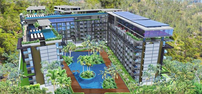 Modern Apartment in kamala for sale. Offering Apartments for sale and re-sale in a secure community on Phuket for expats, retirees and families. - 1