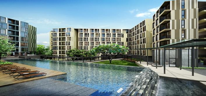 New Condos for sale Phuket Town. Offering Apartments for sale and re-sale in a secure community on Phuket for expats, retirees and families. - 1