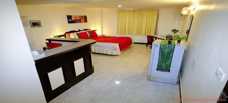 Patong Guesthouse Deluxe Studio room ad