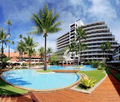 Patong Beach Hotel is locationed at 124 Taweewong Road