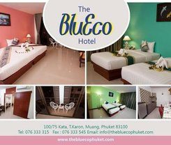 The BluEco Hotel is locationed at 100 / 75 Kata