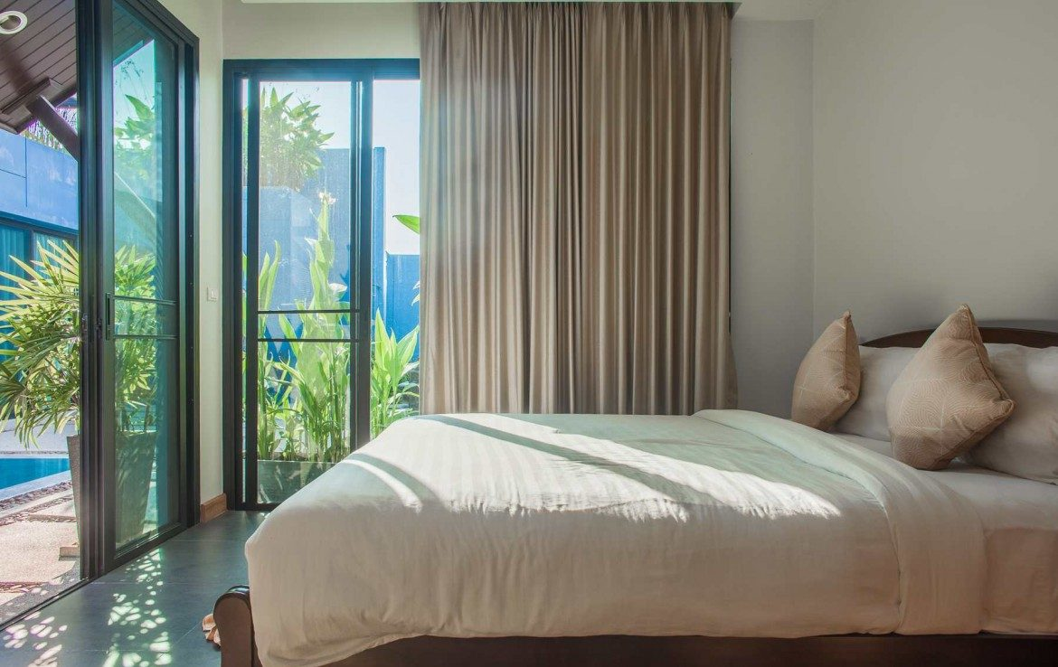 This 2 bedroom / 2 bathroom Villa for sale is located in Bangtao on Phuket island, Thailand