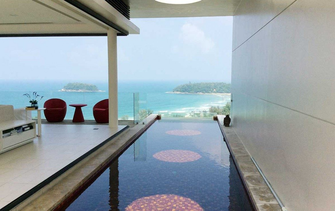 Oceanfront 3 Bedroom Residence with Infinity Pool -1171 - Selling in Kata for ฿66