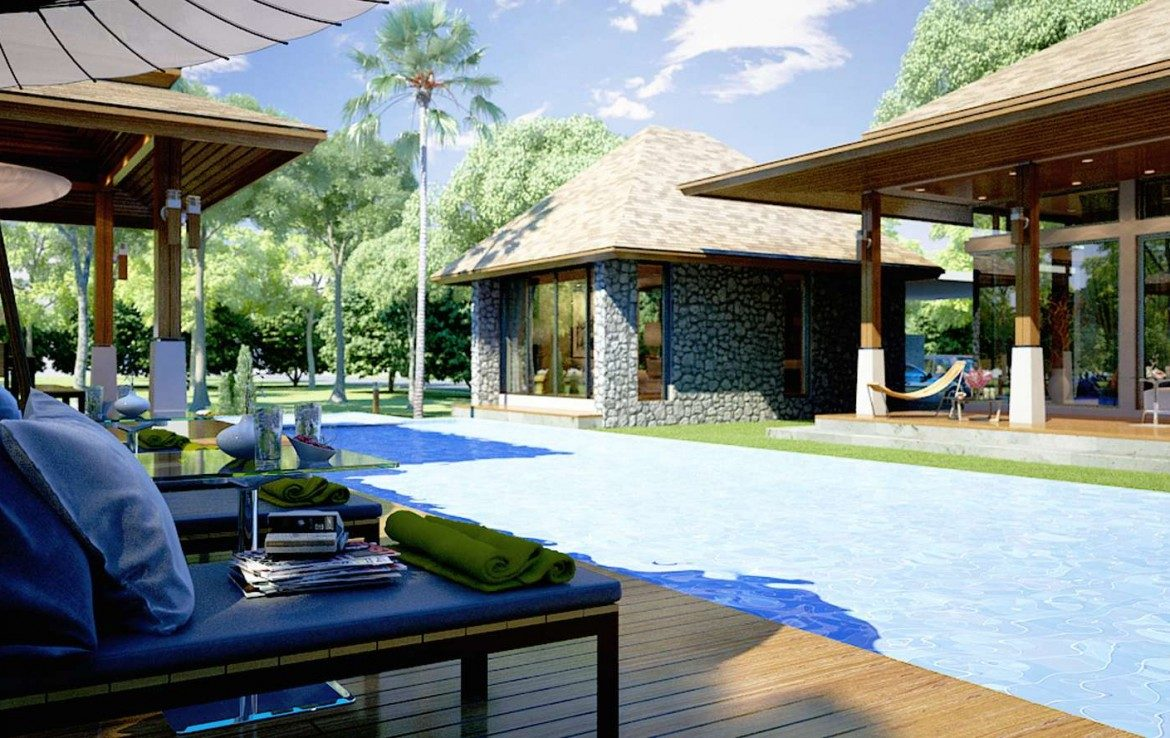 This 3 bedroom / 4 bathroom Villa for sale is located in Laguna on Phuket, Thailand