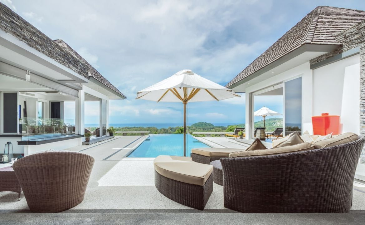 This 5 bedroom / 6 bathroom Villa for sale is located in Layan on Phuket