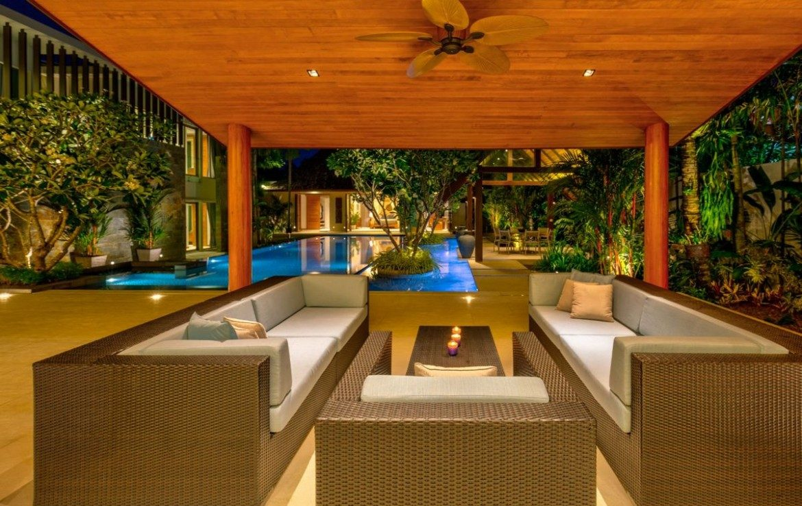 This 7 bedroom / 8 bathroom Villa for sale is located in Layan on Phuket, Thailand