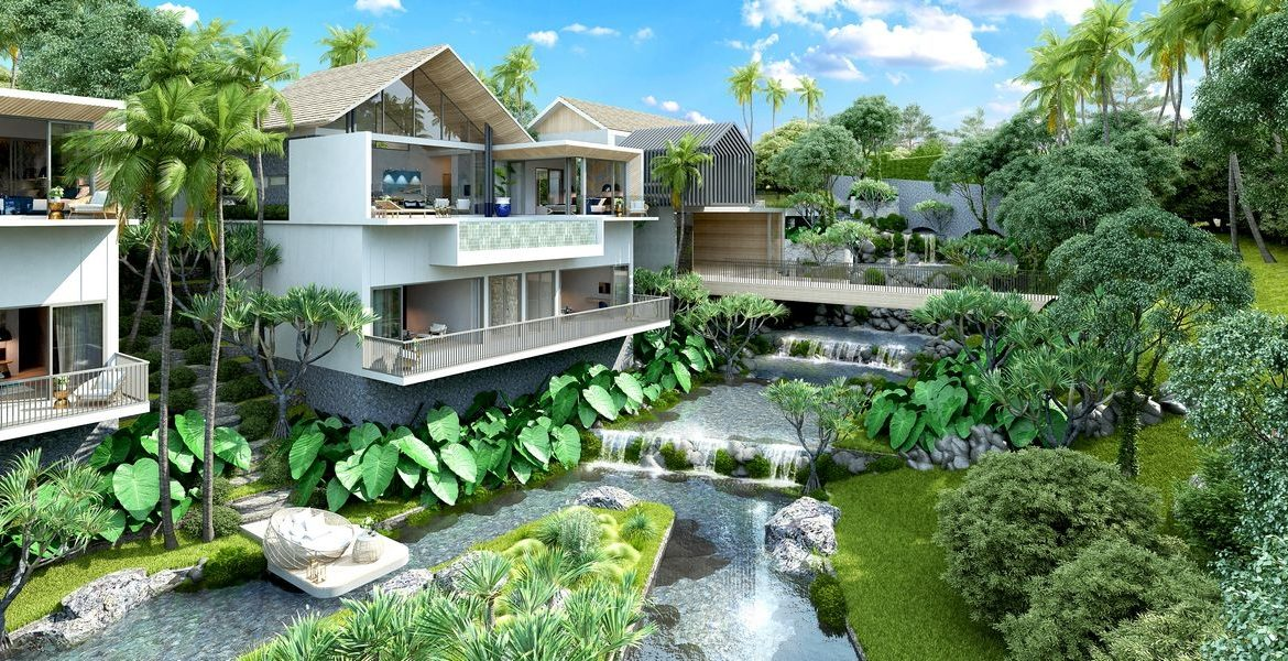 This 4 bedroom / 4 bathroom Villa for sale is located in Thalang on Phuket in Thailand