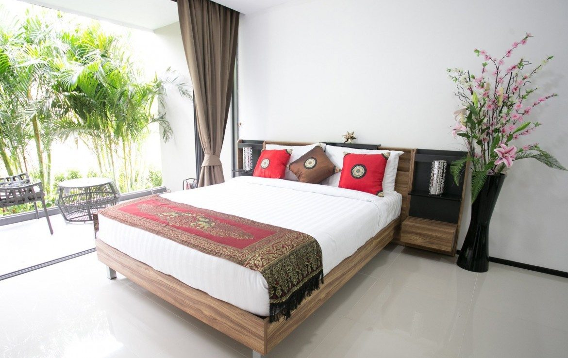 This 2 bedroom / 2 bathroom Villa for sale is located in Mai Khao on Phuket